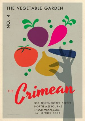 The Crimean Vegetable Garden Poster