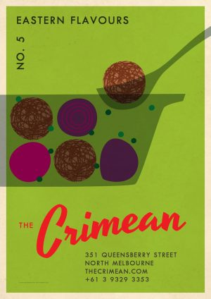 The Crimean Eastern Flavours Poster