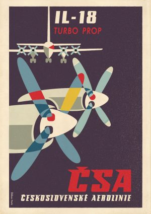Zizkov Park CSA Turbo Prop Poster